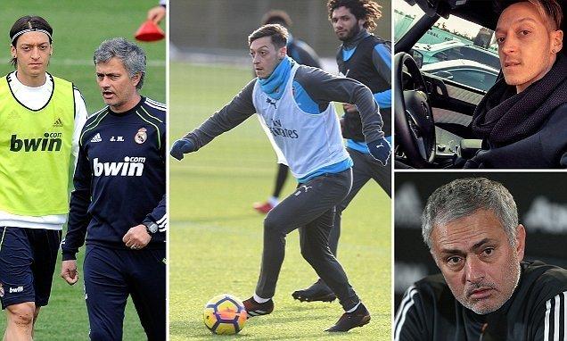 Mourinho có thể chiêu mộ Ozil đầu năm tới