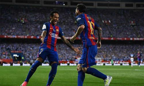 Messi: 'Barca vẫn nhớ Neymar'