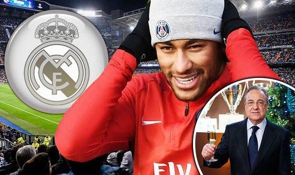 """Chủ tịch Perez quyết tâm """"bốc"""" Neymar về Real"""