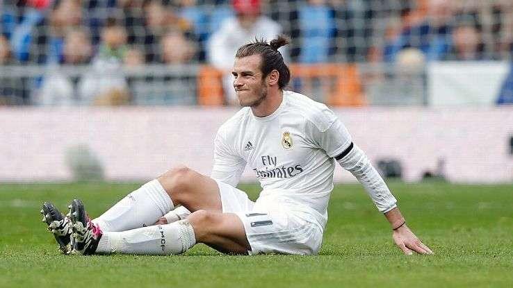 Bale lại tái phát chấn thương ngay sau khi vừa mới trở lại
