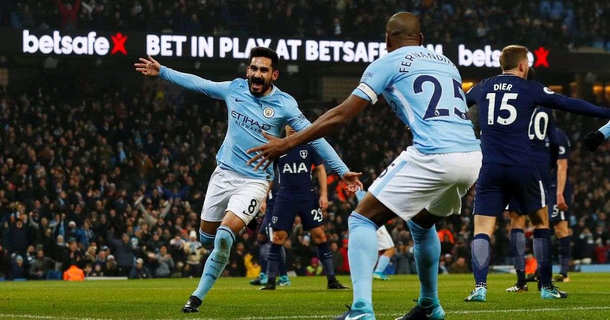 Man City vừa đánh bại Tottenham