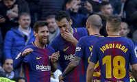 Barca thắng liên tiếp 3 trận tại Bernabeu với tổng tỷ số 10-2