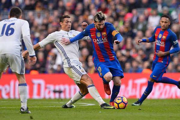 Hé lộ đội hình của Real và Barca ở trận Siêu kinh điển