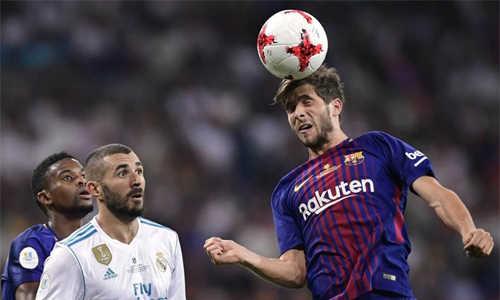 Trước El Clasico, Barca và vấn đề hậu vệ phải