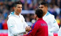 """Totti: """"Messi là cầu thủ hay nhất thế giới"""""""