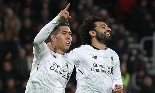 Salah ghi bàn trở lại trong trận thắng Bournemouth