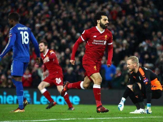 Mohamed Salah đang chấn thương nhẹ