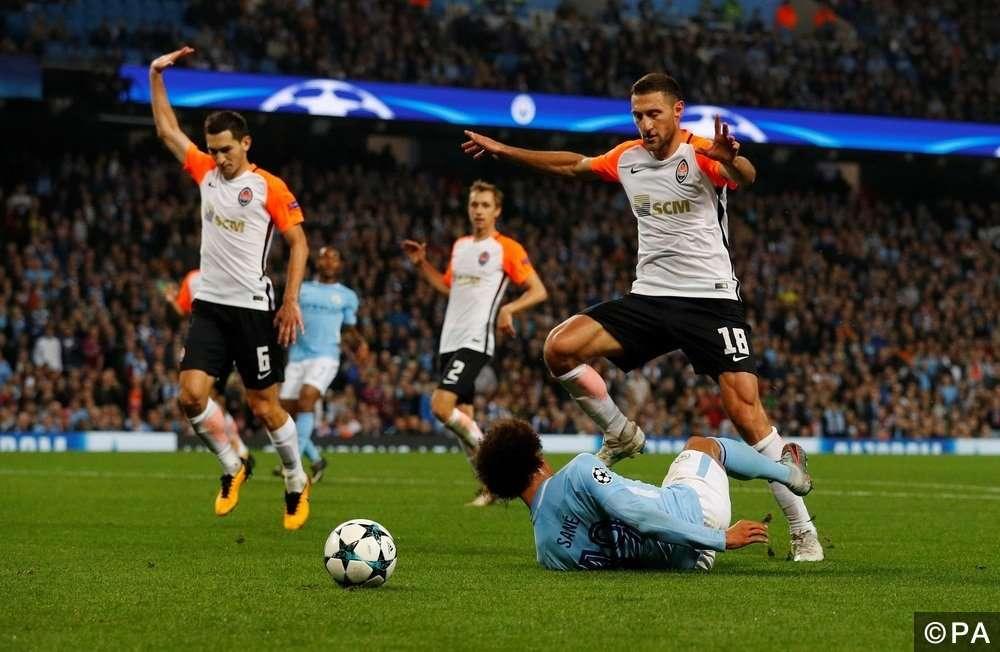 Hy vọng cho Shakhtar Donetsk trước Man City là rất nhỏ