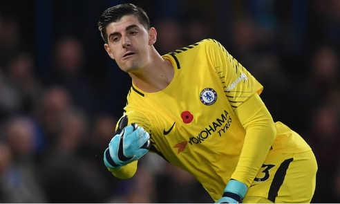 Courtois muốn Chelsea chiến thắng hai trận đấu cuối cùng của năm 2017