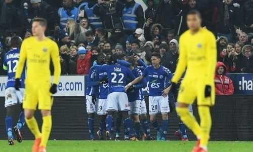 PSG bất ngờ nhận thất bại đầu tiên ở Ligue I