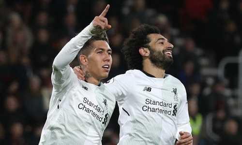 Liverpool lập kỷ lục phá lưới trên sân khách ở Premier League