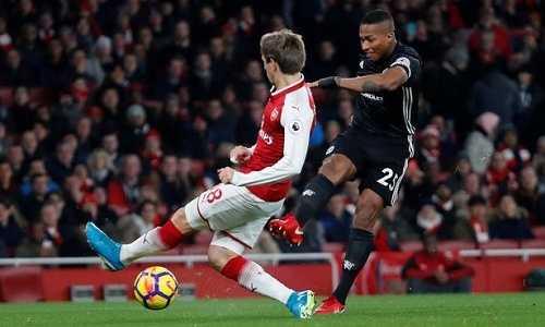 Bảy điều có thể bạn bỏ lỡ ở trận MU thắng Arsenal