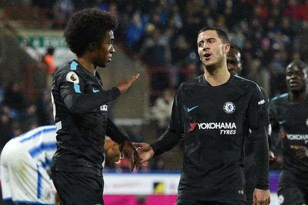 Wilian và Hazard cho rằng Chelsea vẫn chưa hết cơ hội bảo vệ chức vô địch Premier League của mình
