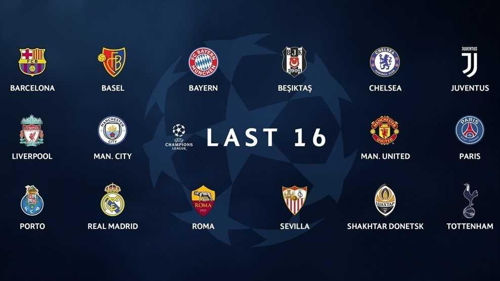 Danh sách 16 đội giành vé vòng knock-out Cúp C1