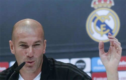 Zidane và Real đã sẵn sàng tiếp đón Barca