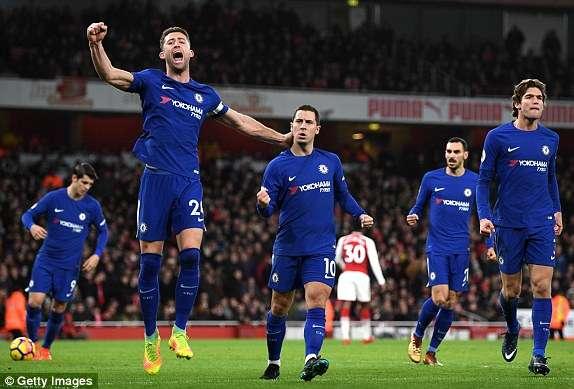 Chelsea từng lọt vào chung kết FA Cup mùa trước