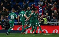 Thua sốc trước Leganes, Real bị loại khỏi Cúp nhà Vua Tây Ban Nha