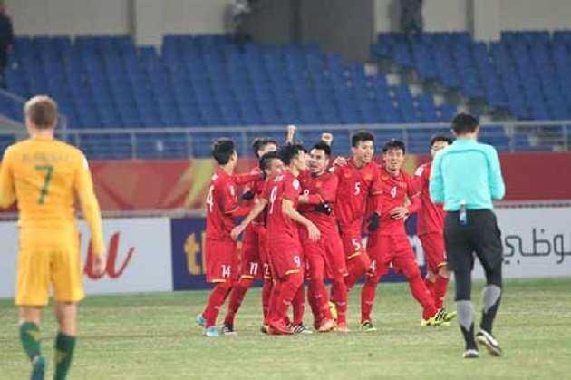 Chiến thắng lịch sử trước Australia,U23 Việt Nam tràn trề cơ hội vào Tứ kết