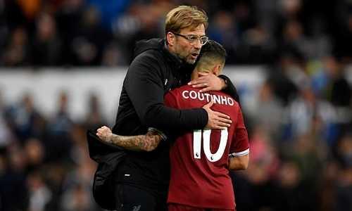 """Klopp: """"Liverpool đã không sai khi để Coutinho ra đi trước trận đại chiến với Man City"""""""