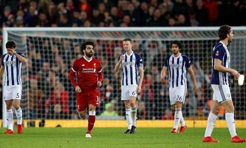 Liverpool thua ngược ngay trên sân Anfield ở vòng bốn Cup FA