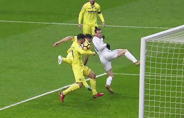 Real bị mất hai quả phạt đền ở trận đấu với Villarreal