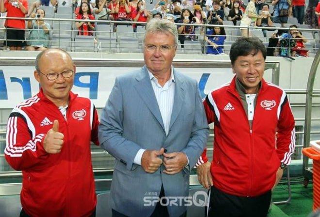 """Ông Park Hang Seo được ví như""""Hiddink Việt Nam"""""""