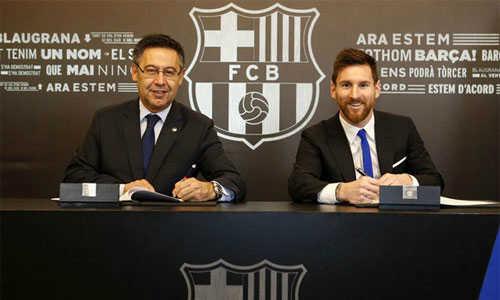Messi có thu nhập từ Barca cao gấp đôi C.Ronaldo tại Real Madrid