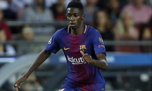 Dembele chuẩn bị tái xuất trong màu áo Barca.