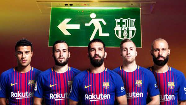 Hết tiền vì mua Coutinho, Barca bán tháo cầu thủ