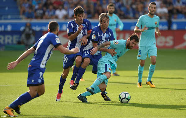 Barcelona không có đối thủ ở cuộc đua La Liga