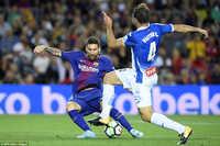 Barcelona hướng tới giấc mộng ăn ba ở trận derby Catalonia