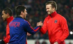 Messi để ngỏ khả năng về đá cho Beckham tại Mỹ