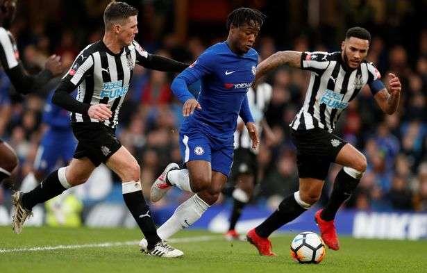 Chelsea vừa loại Newcastle ở FA Cup