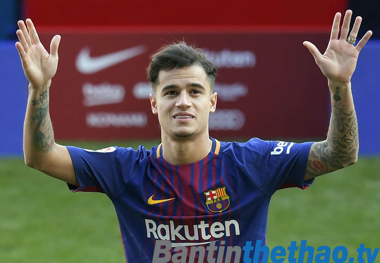 Coutinho hạnh phúc khi được ra mắt Barca