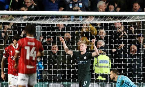 Chơi áp đảo, Man City tiến vào chung kết Cup Liên đoàn Anh