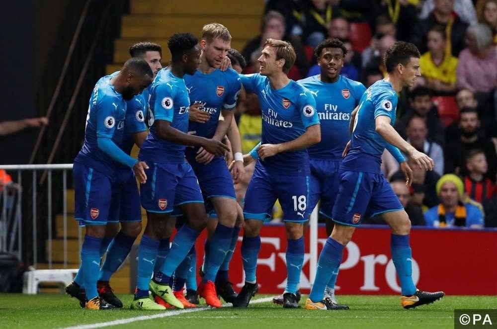 Arsenal đang có phong độ tốt ở FA Cup
