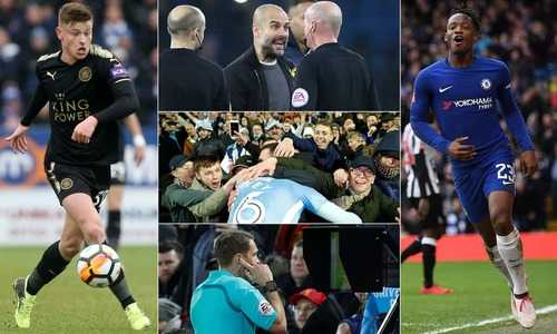 Man United, Man City, Chelsea và Tottenham dễ thở ở vòng 5 Cup FA