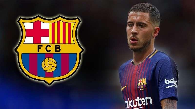 Barca cũng nuôi tham vọng sở hữu Hazard