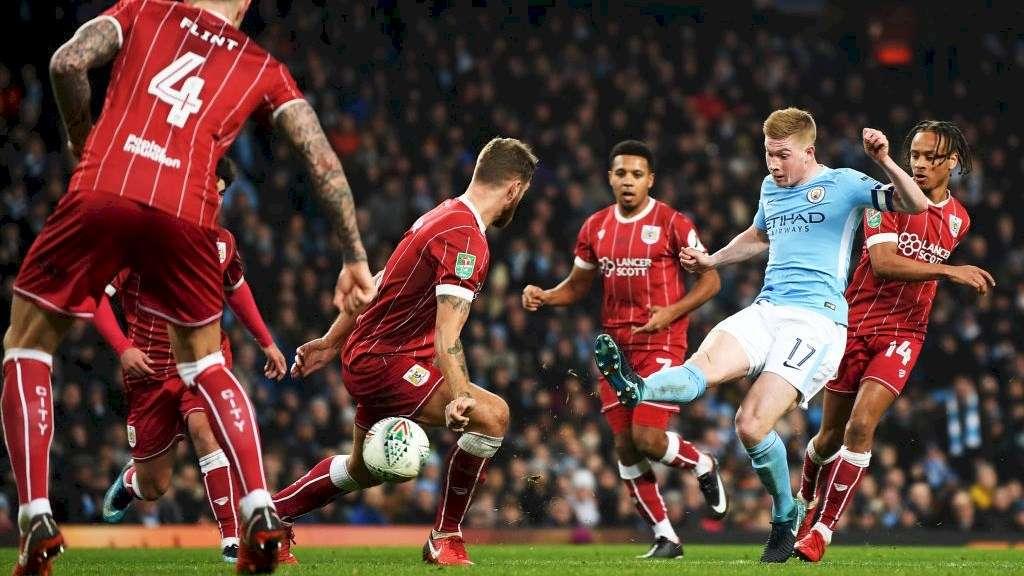 Man City đã thắng 2-1 ở lượt đi