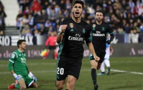 Lập siêu phẩm phút 89, Asensio giúp Real đặt một chân vào Bán kết