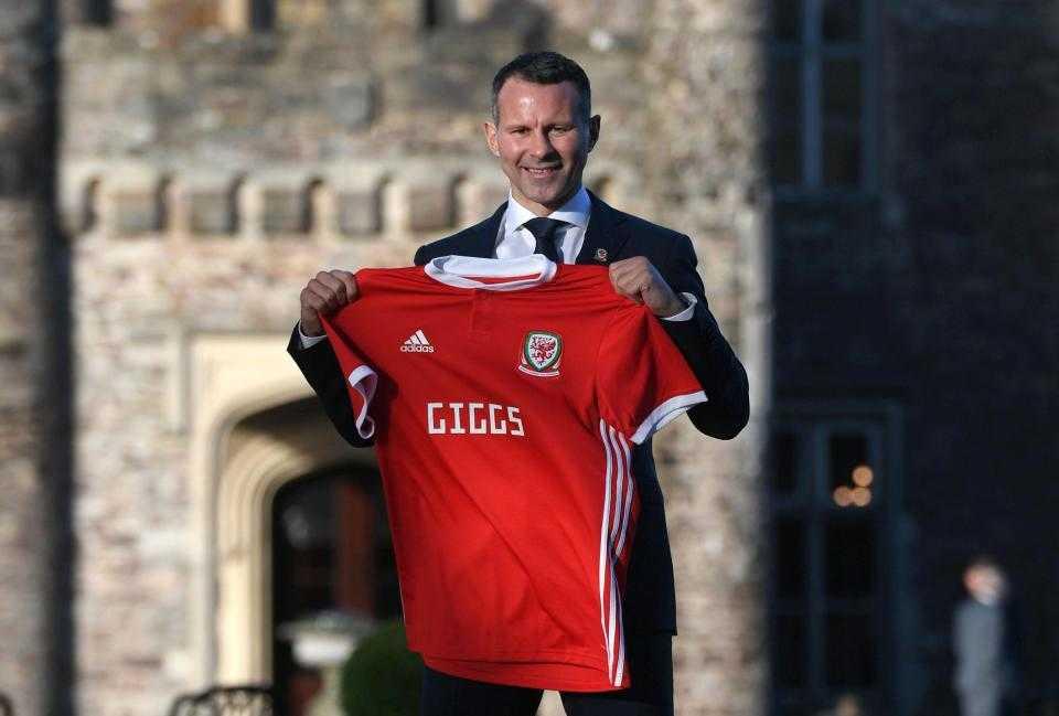 Ryan Giggs chính thức được bổ nhiệm làm HLV trưởng Xứ Wales