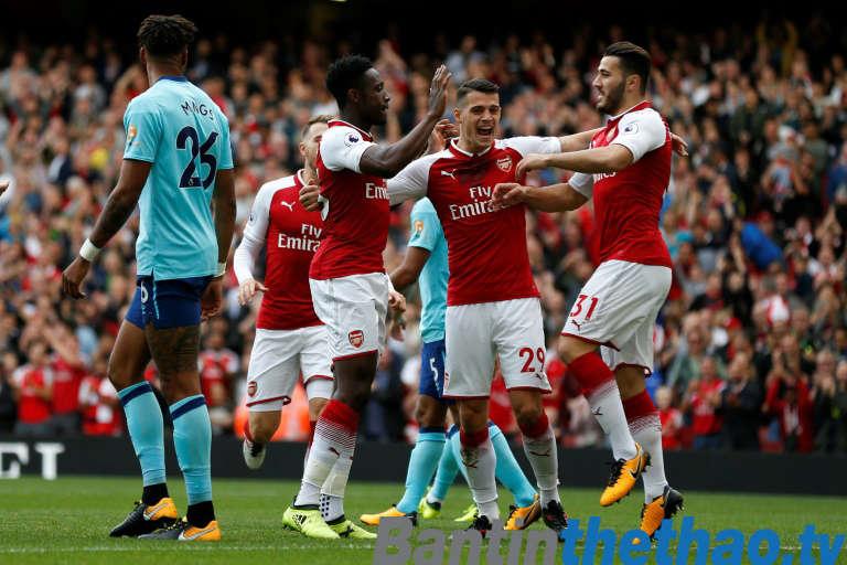 Arsenal vs Bournemouth tối nay 14/1/2018 Ngoại Hạng Anh