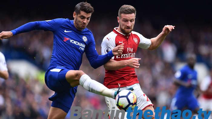 Arsenal vs Chelsea đêm nay 4/1/2018 Ngoại Hạng Anh