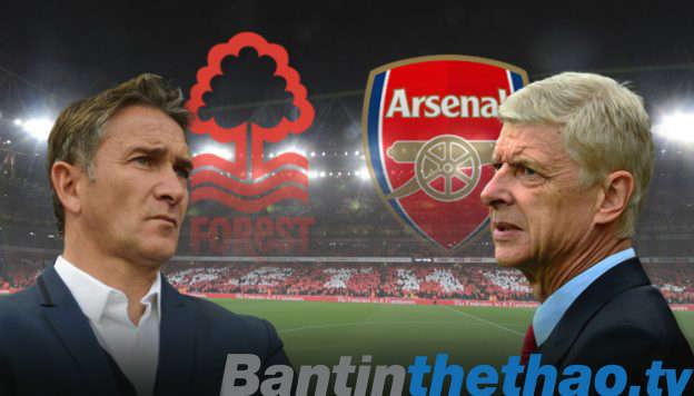Arsenal vs Nottingham tối nay 7/1/2018 FA Cup