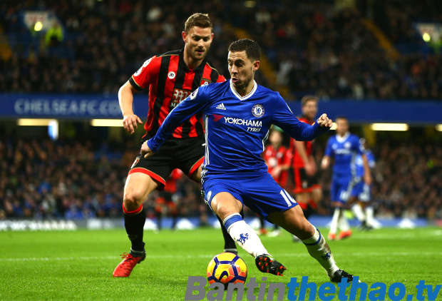 Chelsea vs Bournemouth tối nay 1/2/2018 Ngoại Hạng Anh