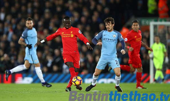 Liverpool vs Man City hôm nay 14/1/2018 Ngoại Hạng Anh