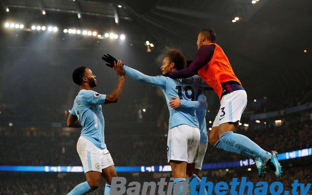 Man City vs Bristol City đêm nay 10/1/2018 Cúp Liên Đoàn