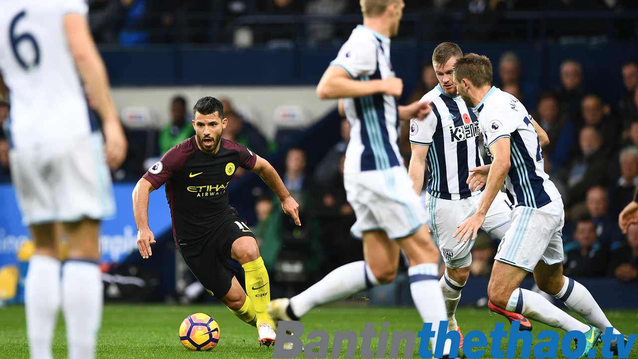 Man City vs West Brom đêm nay 1/2/2018 Ngoại Hạng Anh