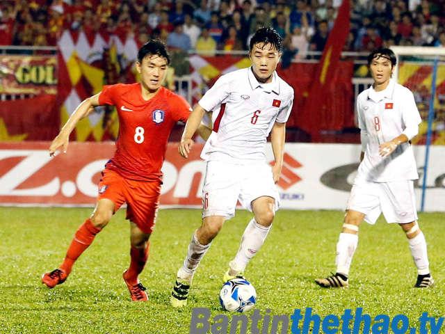 U23 Việt Nam vs U23 Hàn Quốc hôm nay ngày 11/1/2018