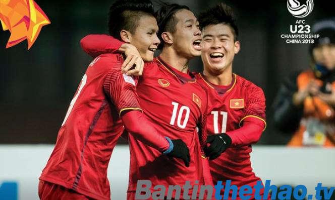 U23 Việt Nam vs U23 Qatar bán kết U23 Châu Á hôm nay ngày 23/1/2018